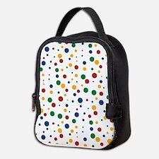 Retro Clowny Dots Neoprene Lunch Bag
