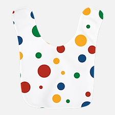 Retro Clowny Dots Bib