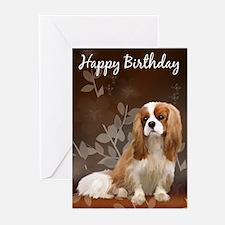 King Charles Spaniel Dog Greeting Cards (pk Of 10)