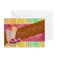 Sweet Treat Birthday Greeting Cards (pk Of 20)