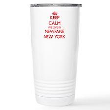 Keep calm we live in Ne Travel Mug