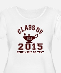 Class Of 2015 RN Plus Size T-Shirt