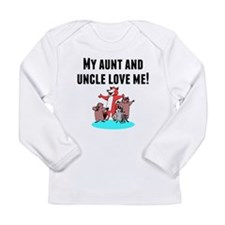 My Aunt And Uncle Love Me Long Sleeve T-Shirt