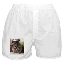 Chinchilla raisins Boxer Shorts