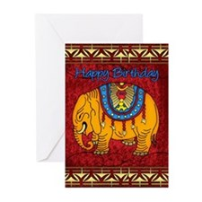 Elephant Birthday Greeting Cards (pk Of 20)