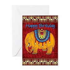 Elephant Birthday Card Greeting Cards