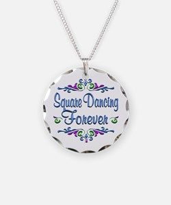 Square Dancing Forever Necklace
