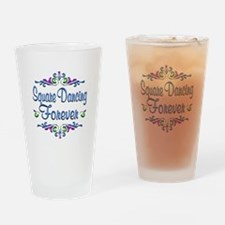 Square Dancing Forever Drinking Glass