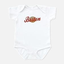 Boston Baseball design Infant Bodysuit