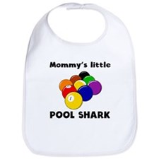 Mommys Little Pool Shark Bib