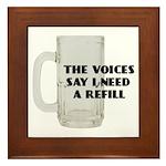 Beer Refill Framed Tile