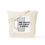 Beer Refill Tote Bag