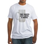 Beer Refill Fitted T-Shirt
