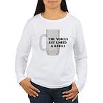 Beer Refill Women's Long Sleeve T-Shirt