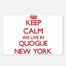 Keep calm we live in Quog Postcards (Package of 8)