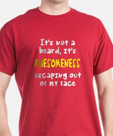 Beard awesomeness T-Shirt