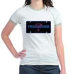 YRUSODUMB? Jr. Ringer T-Shirt