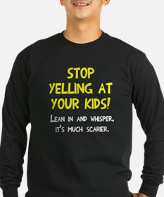 Stop yelling at kids T