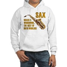 Sax: Best of Both Worlds Hoodie