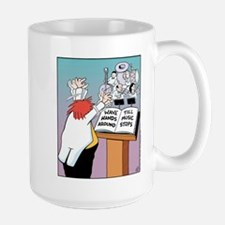 Wave Hands Ceramic Mugs