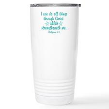 Phillipians 4:13 Travel Mug