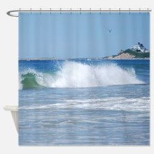 Breaking Ocean Wave Shower Curtain