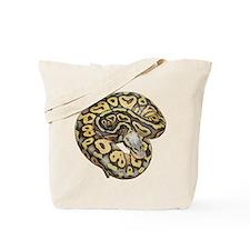 Super Pastel Ball Python Tote Bag