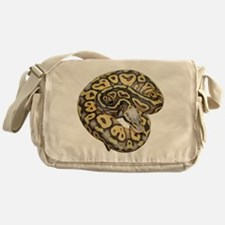 Super Pastel Ball Python Messenger Bag