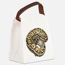 Super Pastel Ball Python Canvas Lunch Bag