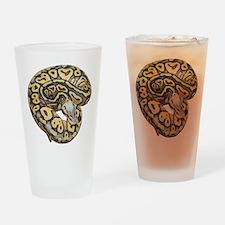 Super Pastel Ball Python Drinking Glass