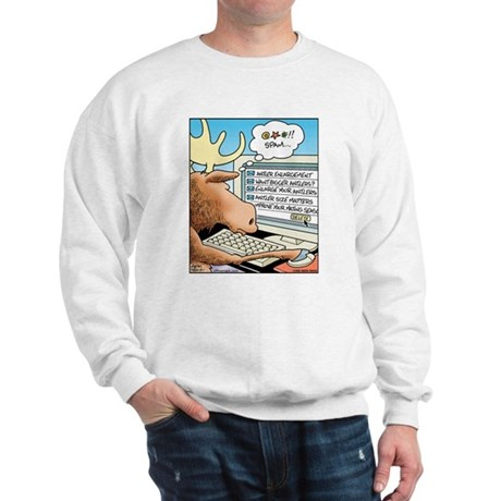 Moose S*X Spam Sweatshirt