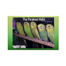 """Parakeet Humor #7"" Rectangle Magnet"