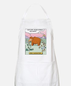 Early Acupuncture BBQ Apron