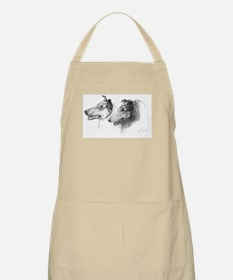 Rough and Smooth Collie Grooming Apron