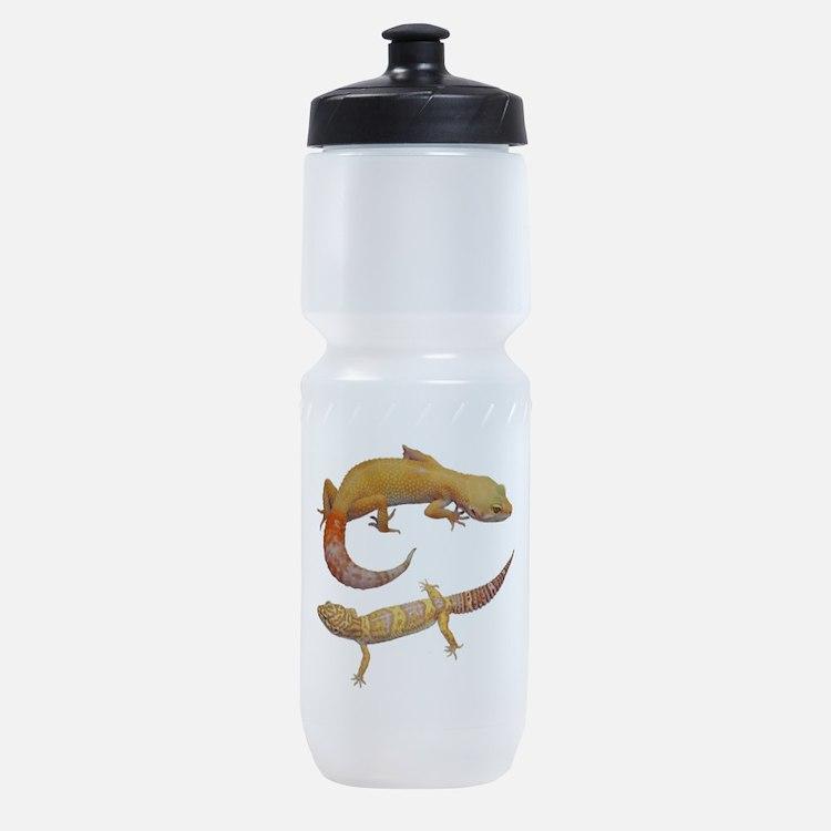 Hypo and Albino Leopard Geckos Sports Bottle