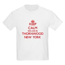 Keep calm we live in Thornwood New York T-Shirt