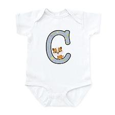 Animal Alphabet - C Is For Cat Body Suit