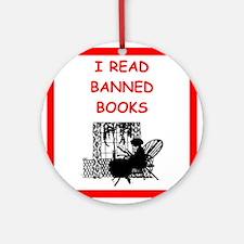 banned books Ornament (Round)