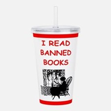 banned books Acrylic Double-wall Tumbler