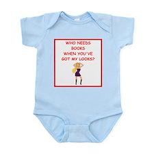 good looks Infant Bodysuit