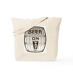 Beer On Tap Tote Bag