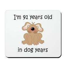13 dog years 5 - 2 Mousepad