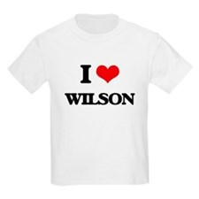 I Love Wilson T-Shirt