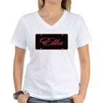 Ella Women's V-Neck T-Shirt