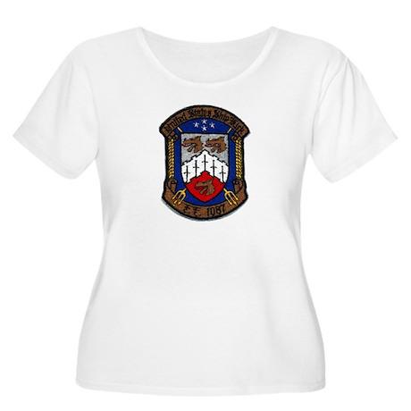 USS KIRK Women's Plus Size Scoop Neck T-Shirt