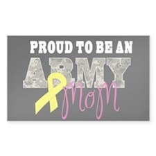 Proud to Be Army Mom Decal