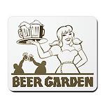 Beer Garden Mousepad
