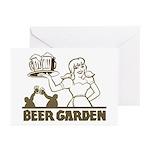 Beer Garden Greeting Cards (Pk of 10)