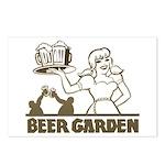 Beer Garden Postcards (Package of 8)