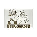 Beer Garden Rectangle Magnet